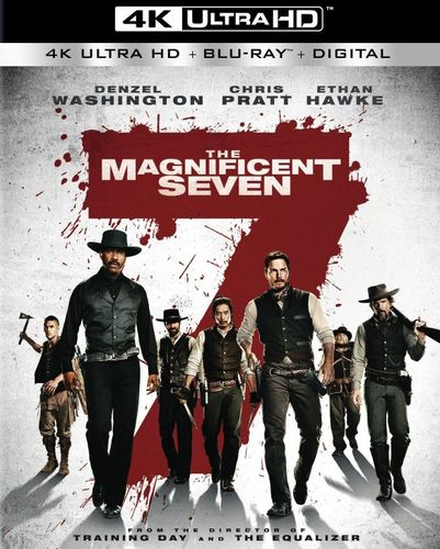 The Magnificent Seven [Includes Digital Copy] [4K Ultra HD Blu-ray/Blu-ray] [2016] 5623511
