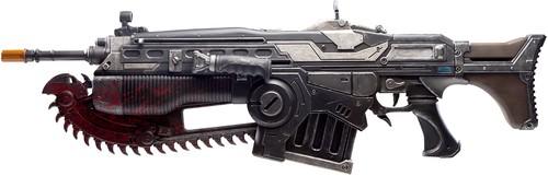 PDP - Gears of War® 4 Customized Lancer Prop Replica - Black, Gun Metal