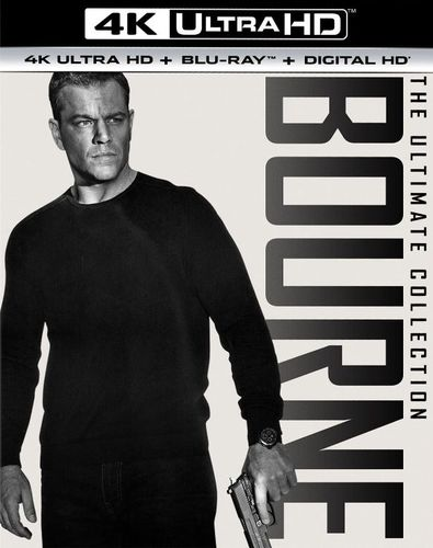 Jason Bourne: 5 Movie Collection [Digital Copy] [4K Ultra HD Blu-ray/Blu-ray] [Only @ Best Buy] 5623610