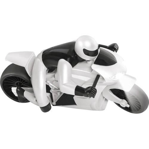 Black Series - Lean Machine Racing Motorcycle - White 5624025
