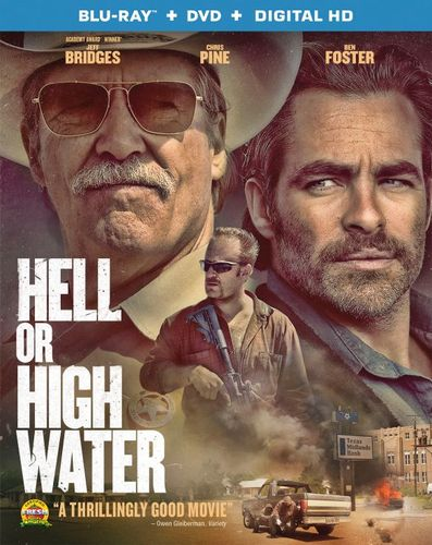 Hell or High Water [Blu-ray/DVD] [Includes Digital Copy] [2 Discs] [2016] 5624459