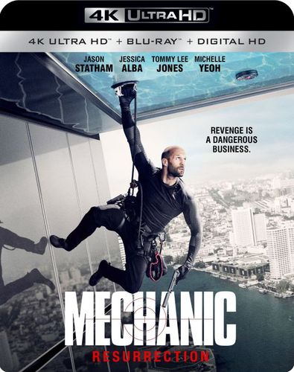 Mechanic: Resurrection [4K Ultra HD Blu-ray/Blu-ray] [Includes Digital Copy] [2016] 5624463