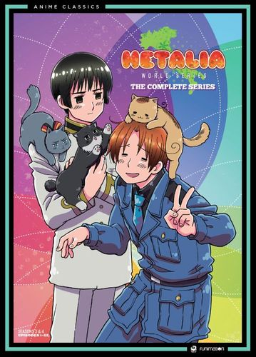Hetalia: World Series - The Complete Series [4 Discs] [DVD] 5624760