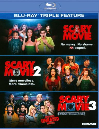 Scary Movie 1-3 [3 Discs] [Blu-ray] 5624785