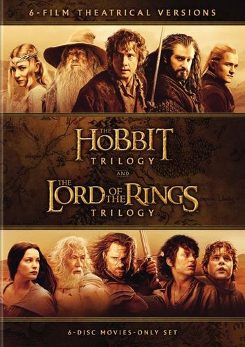 Middle-Earth Theatrical Collection: 6-Film Theatrical Versions [6 Discs] [DVD] 5629001