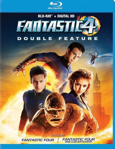 Fantastic Four Double Feature [Blu-ray] 5632304