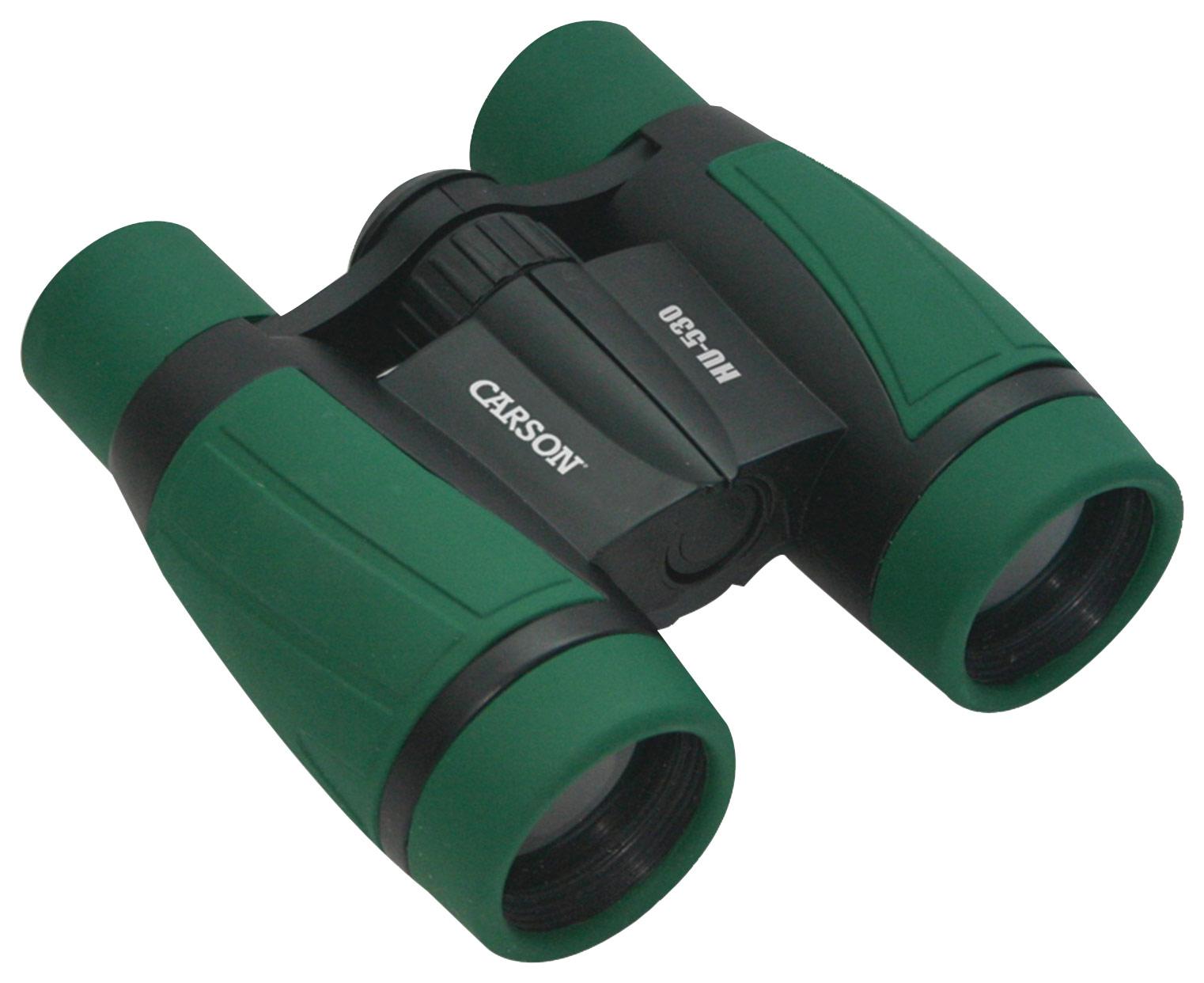 Carson - Hawk 5 x 30 Kids' Deluxe Ultra Binoculars - Green