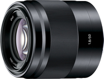 Sony SEL50F18/B 50mm f/1.8 OSS Prime Lens for Select Alpha E-mount Cameras Black