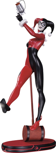 DC Collectibles - DC Comics Cover Girls: Classic Harley Quinn Statue 5641607