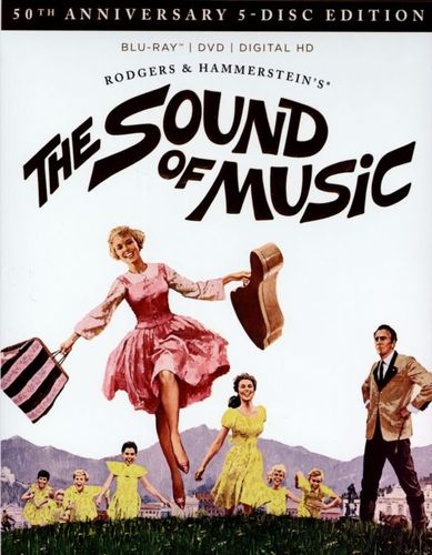 The Sound of Music [50th Anniversary 5-Disc Edition] [5 Discs] [Includes Digital Copy] [Blu-ray/DVD] [1965] 5642033