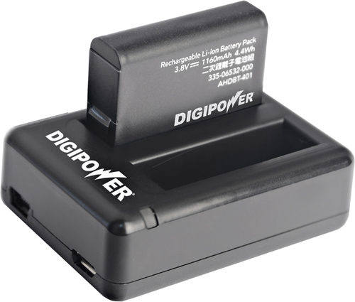 Digipower - RFK-GP401 Re-fuel Battery Charger - Black