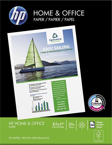 HP Home & Office Flat Multipurpose Paper White 200300