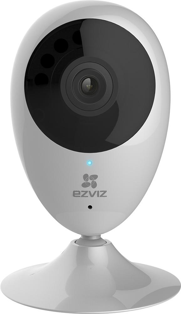 EZVIZ - Mini O Indoor 720p Wi-Fi Network Surveillance Camera - White