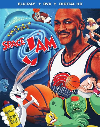 Space Jam [20th Anniversary Edition] [Blu-ray/DVD] [SteelBook] [2 Discs] [1996] 5655100