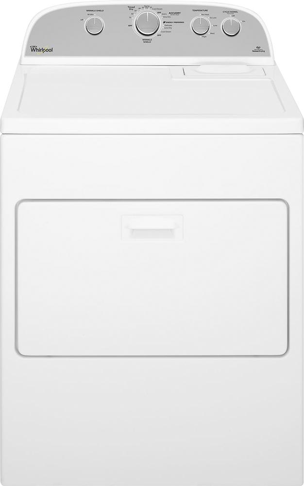 Whirlpool 7.0 Cu. Ft. 12-Cycle Gas Dryer Gray/White WGD4915EW