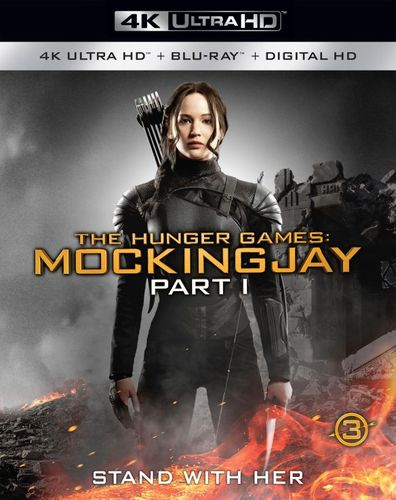 The Hunger Games: Mockingjay, Part 1 [4K Ultra HD Blu-ray/Blu-ray] [Includes Digital Copy] [2014] 5655546