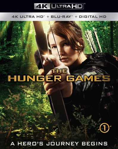 The Hunger Games [4K Ultra HD Blu-ray/Blu-ray] [Includes Digital Copy] [2012] 5655549