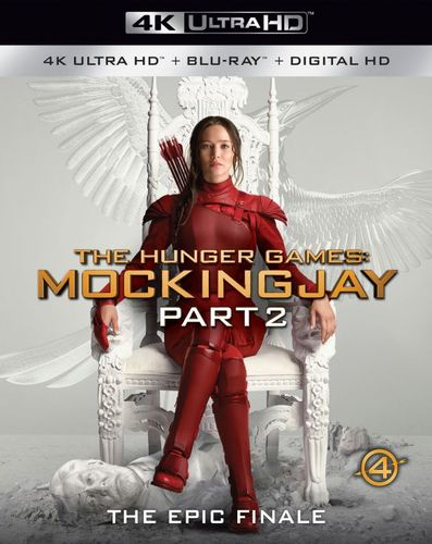 The Hunger Games: Mockingjay, Part 2 [4K Ultra HD Blu-ray/Blu-ray] [Includes Digital Copy] [2015] 5655550