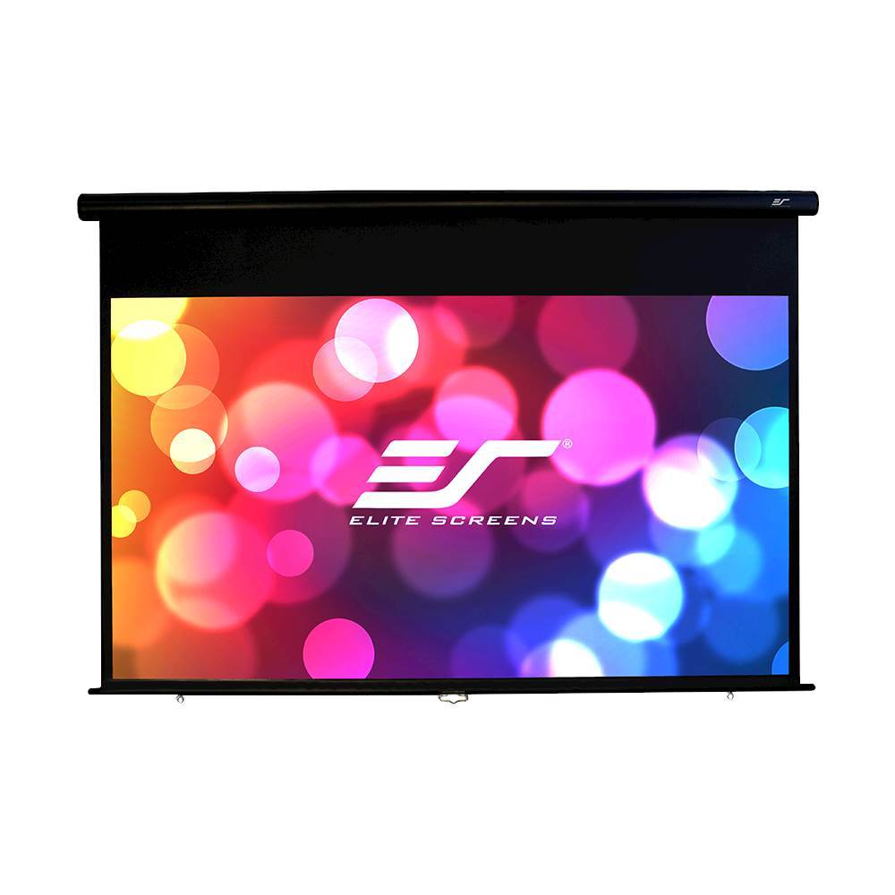 "Elite Screens Yard Master Manual Series 120"" Outdoor Projector Screen Black OMS120HM"
