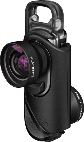 olloclip - Core Lens Set for Apple® iPhone® 7, 7 Plus, 8 and 8 Plus - Black 5656083