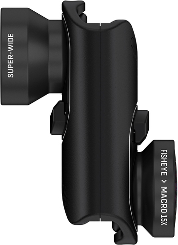 olloclip - Core Lens Set and Case for Apple® iPhone® 7, 7 Plus, 8 and 8 Plus - Black 5656084