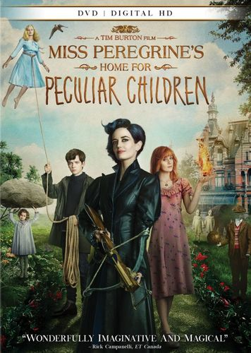 Miss Peregrine's Home for Peculiar Children [Includes Digital Copy] [DVD] [2016] 5656129
