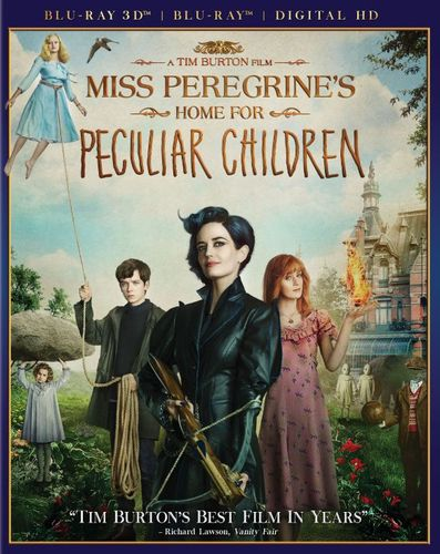 Miss Peregrine's Home for Peculiar Children [Includes Digital Copy] [3D] [Blu-ray] [Blu-ray/Blu-ray 3D] [2016] 5656130
