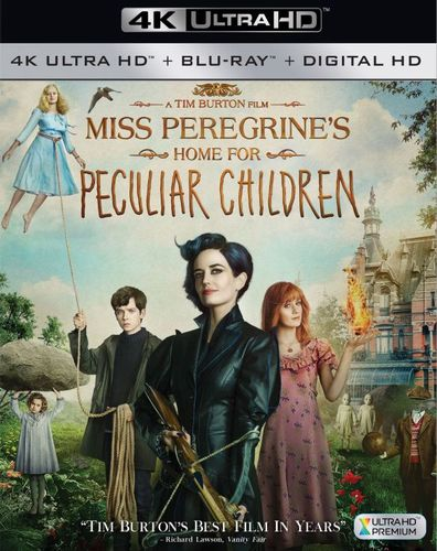 Miss Peregrine's Home for Peculiar Children [Includes Digital Copy] [4K Ultra HD Blu-ray/Blu-ray] [2016] 5656132