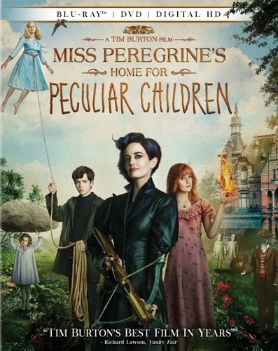 Miss Peregrine's Home for Peculiar Children [Includes Digital Copy] [Blu-ray/DVD] [2016] 5656133