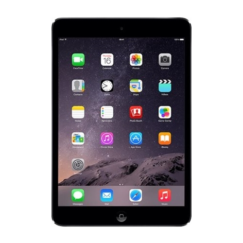 Apple - Refurbished iPad mini 2 - Wi-Fi + Cellular - 16GB - (AT&T) - Space gray