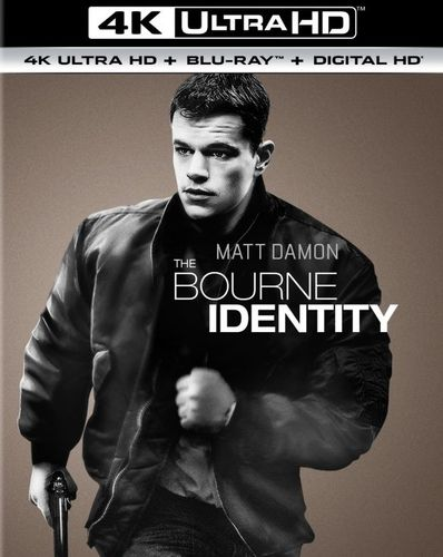 The Bourne Identity [4K Ultra HD Blu-ray/Blu-ray] [UltraViolet] [Includes Digital Copy] [2002] 5656613