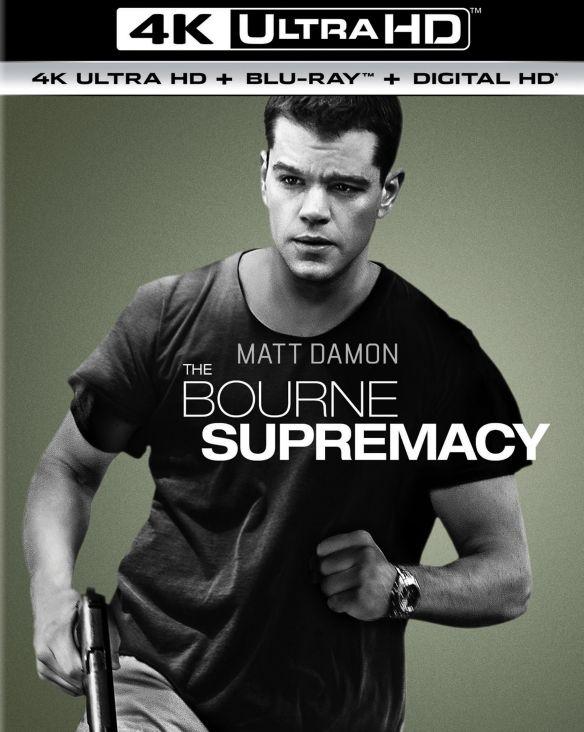 The Bourne Supremacy [4K Ultra HD Blu-ray/Blu-ray] [UltraViolet] [Includes Digital Copy] [2004] 5656637