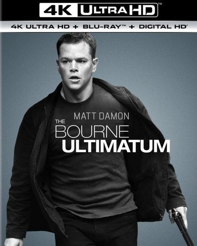 The Bourne Ultimatum [4K Ultra HD Blu-ray/Blu-ray] [UltraViolet] [Includes Digital Copy] [2007] 5656640