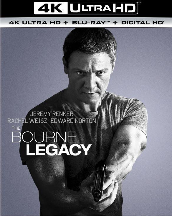 The Bourne Legacy [4K Ultra HD Blu-ray/Blu-ray] [UltraViolet] [Includes Digital Copy] [2012] 5656641