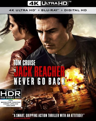 Jack Reacher: Never Go Back [Includes Digital Copy] [4K Ultra HD Blu-ray/Blu-ray] [2016] 5657007