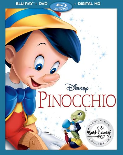 Pinocchio [Includes Digital Copy] [Blu-ray/DVD] [2 Discs] [1940] 5657241