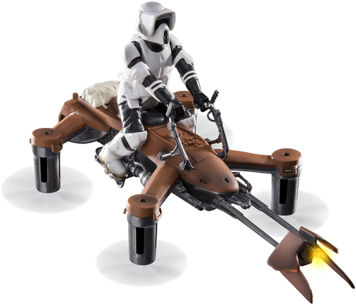 Propel - 74-Z Speeder Bike Quadrocopter with Remote Controller - Brown/White