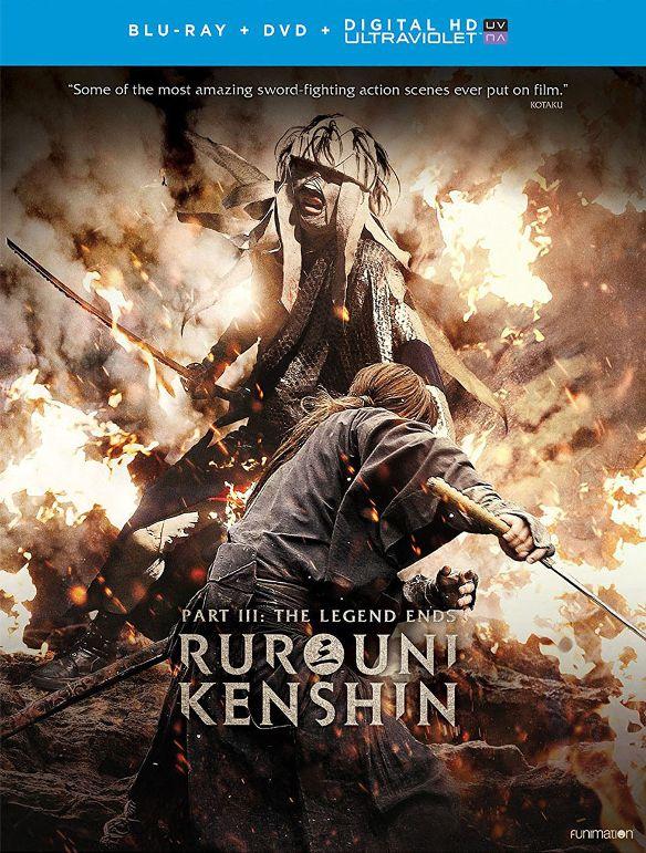 Rurouni Kenshin: The Legend Ends [Blu-ray] [2 Discs] [2014] 5661503