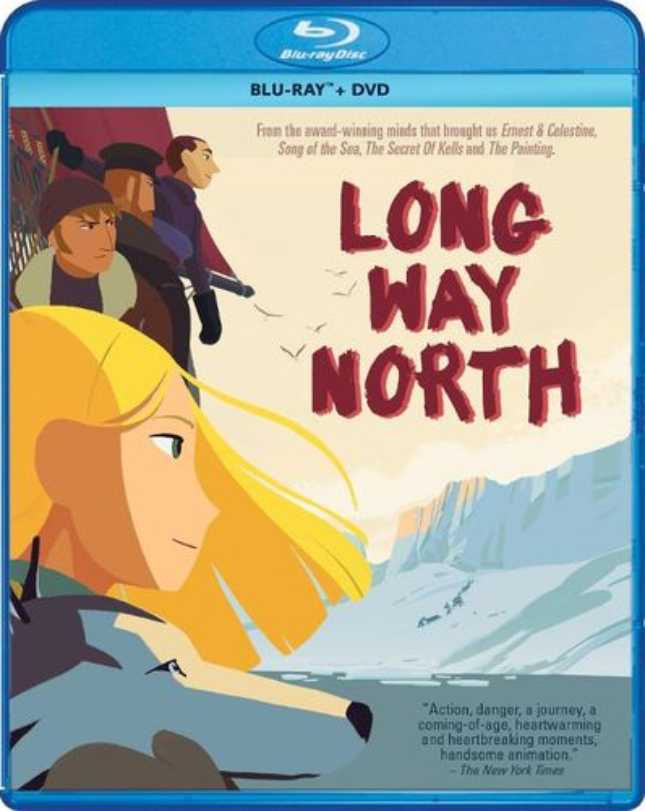 Long Way North [Blu-ray] [2 Discs] [2015] 5661508