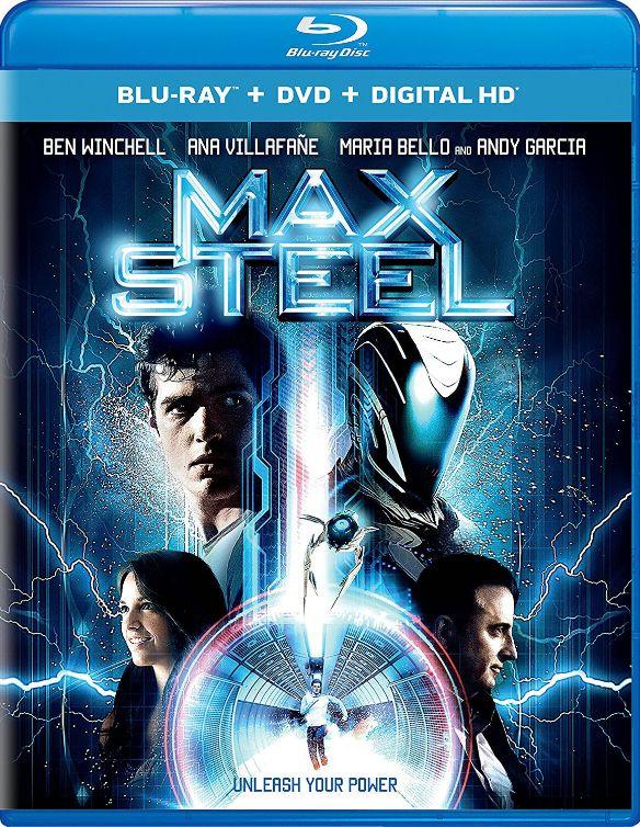 Max Steel [Includes Digital Copy] [UltraViolet] [Blu-ray/DVD] [2 Discs] [2016] 5661800