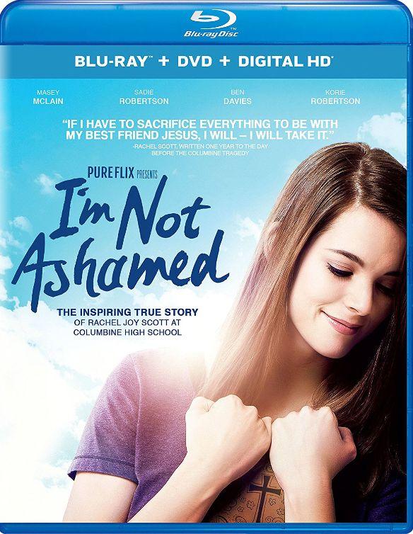I'm Not Ashamed [Includes Digital Copy] [UltraViolet] [Blu-ray/DVD] [2 Discs] [2016] 5661801