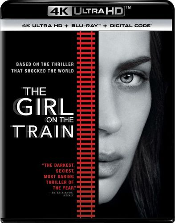 The Girl on the Train [Includes Digital Copy] [4K Ultra HD Blu-ray/Blu-ray] [2016] 5661805