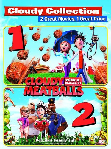 Cloudy with a Chance of Meatballs/Cloudy with a Chance of Meatballs 2 [DVD] 5665200