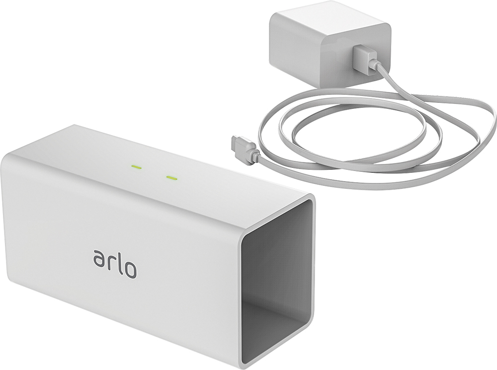 Arlo - Arlo Pro/Arlo Go Security Camera Charging Station - White