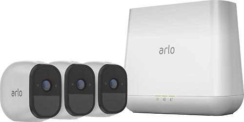 Arlo - Pro 3-Camera Indoor/Outdoor...