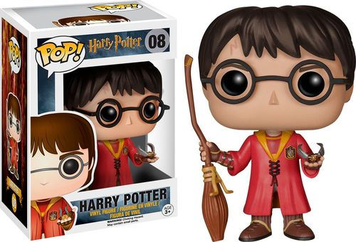 Funko - Pop! Movies Harry Potter: Quidditch Harry 5667789
