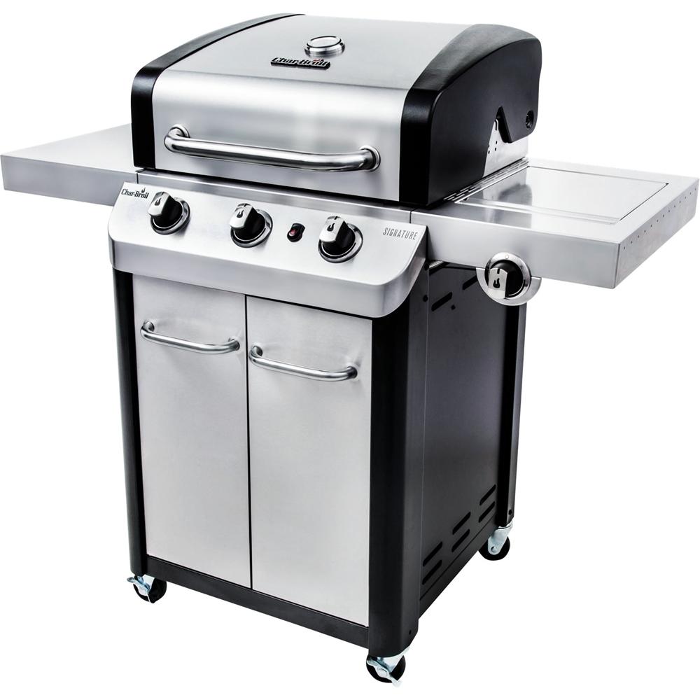 Char-Broil Signature Gas Grill Silver/black 463372017