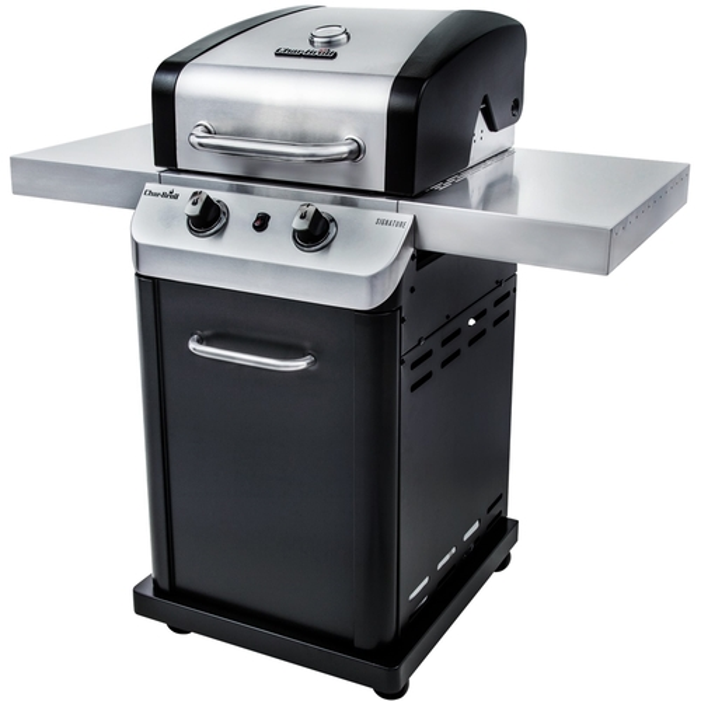 Char-Broil Signature Gas Grill Silver/black 463675517