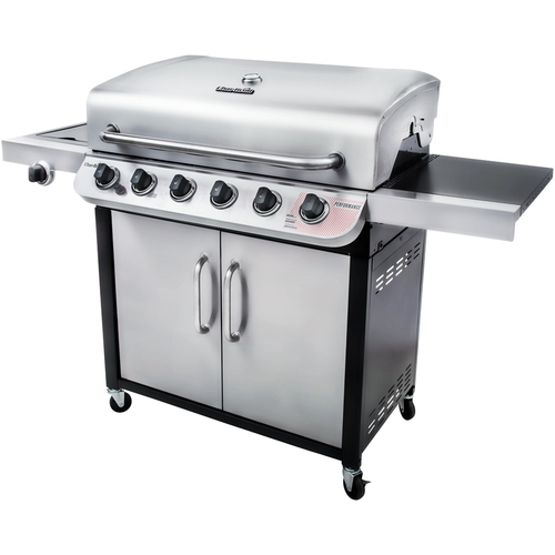 Char-Broil - Performance Gas Grill - Silver/black