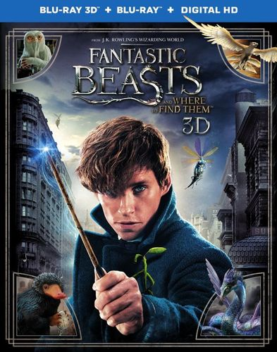 Fantastic Beasts and Where to Find Them [3D] [Blu-ray/DVD] [Blu-ray/Blu-ray 3D/DVD] [2016] 5669904